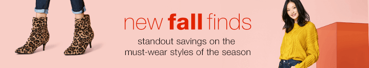 New Fall Finds: Stand-Out Savings on the Must-Wear Styles of the Season