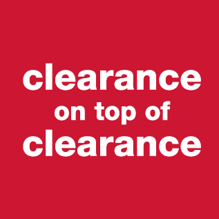 clearance on top of clearance