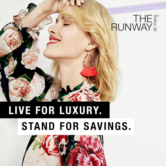 Live for luxury stand for savings.