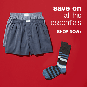 Save on All His Essentials - Shop Now