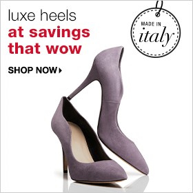 Luxe Heels at Savings that Wow - Shop Now