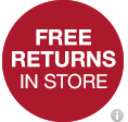 free returns in store