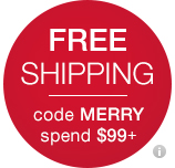 free shipping code merry spend $99+
