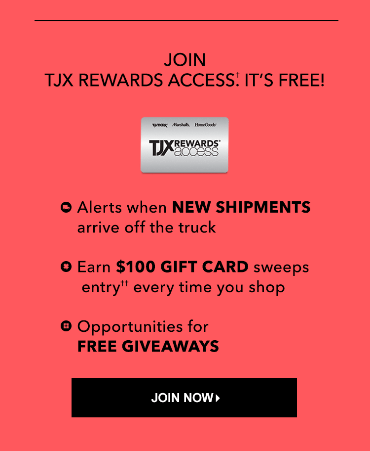 Tj maxx rewards holiday sweepstakes and giveaways